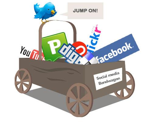 Promozione online social media marketing