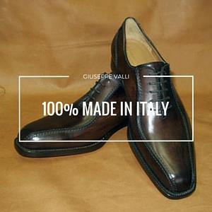scarpe artigianali su misura uomo